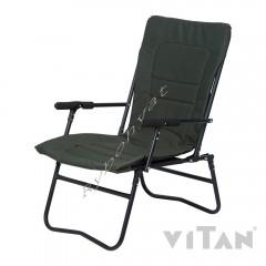 """Кресло """"Белый Амур"""" d20 мм (зеленый Меланж) Vitan"""