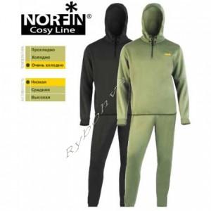 Дышащее белье NORFIN COSY LINE (чёрное) M