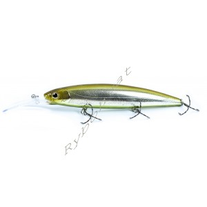 Воблер DEPS BALISONG MINNOW 130SF LONGBILL цвет №23 Glass Belly Shiner