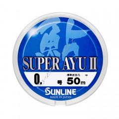 Леска Sunline Super Ayu II 50м HG #1 0.165мм
