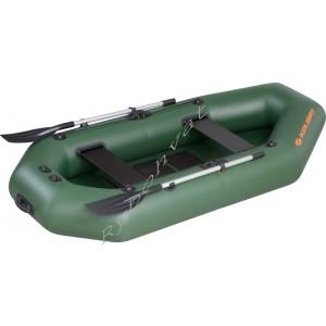 Човен надувний  Колібрі К-260Т, зелений, (у комплекті)