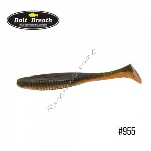 "Приманка  Bait Breath E.T.Shad 2,8"" (8 шт) (955 Mud Goby (2 tone color))"