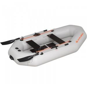 Човен надувний  Колібрі К-280Т,св.сірий, компл