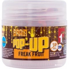 Бойлы Brain Pop-Up F1 Freak Fruit 10 mm 20 gr
