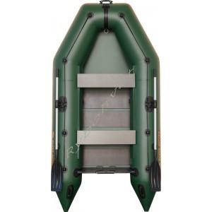 Човен надувний  Колібрі КМ-300, зелений, (у комплекті)