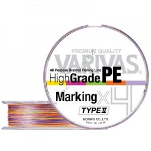 Шнур Varivas High Grade PE Marking TYPE Ⅱ X4 200m #1.2