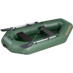 Човен надувний  Колібрі К-240Т, зелений, (у комплекті)