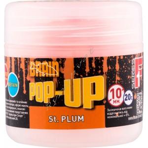 Бойлы Brain Pop-Up F1 St. Plum (слива) 14 mm 15 gr