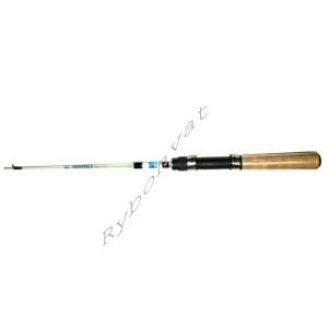 50-Б Удочка зимняя Судаковая , телескоп., пробковая ручка, 50см, Белая