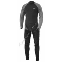 Термобелье Fishing ROI микро-флис XXL(черно-серое)