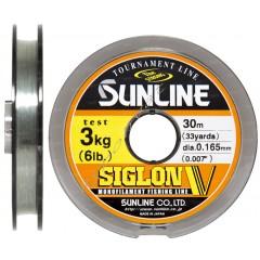 Леска Sunline Siglon V 30м #1.0/0,165мм