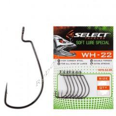Крючок Select WH-22 #1, 5 шт/уп