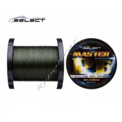 Шнур Select Master PE 1000m 0.32мм 37кг темн.-зел.