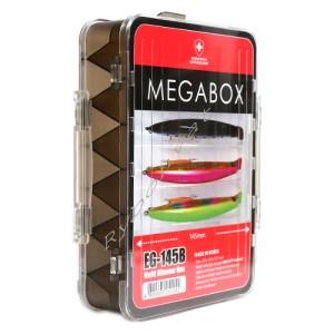 Коробка Moncross для приманок EG-145B Smoke Black