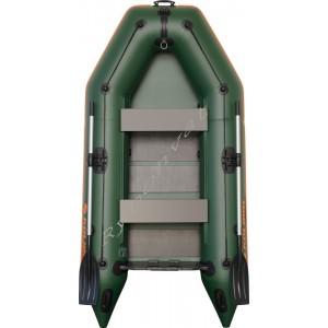 Човен надувний  Колібрі КМ-280, зелений (у комплекті)