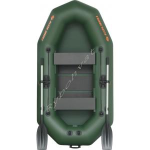 Човен надувний  Колібрі К-250Т зелений (у комплекті)