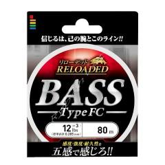 Флюорокарбон Gosen Bass Type FC 80м №2.0(0.235мм) 8lb