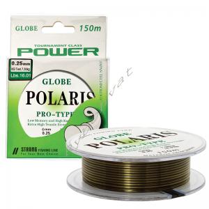 Леска Globe Polaris 100м 0.30мм camo(1шт)