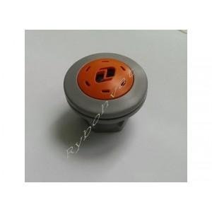 """11.004.94 Клапан перепускний для надувних човнів малий,світло-сірий-помаранчевий """"Колібрі"""""""