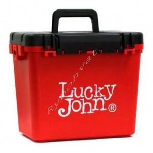 Ящик зимовий пластиковий  високий  LUCKY JOHN (38х26х31.5cm)