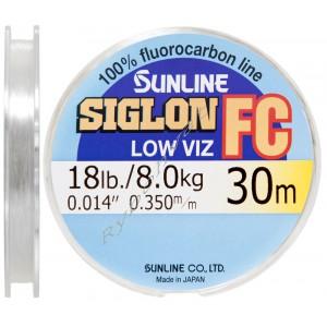 Флюорокарбон Sunline SIG-FC 30м 0.350 8кг поводковый