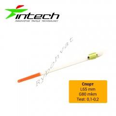 Кивок лавсановый Intech Спорт 65мм  (0.1 - 0.2гр)