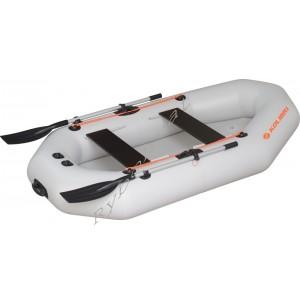 Човен надувний  Колібрі К-250Т, світло-сірий, (у комплекті)