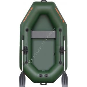 Човен надувний  Колібрі К-220 зелений, (у комплекті)