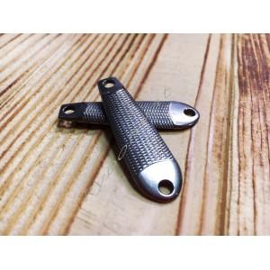 Пилькер вольфрам Tungsten Jigging Spoon 21gr natural (Cheburashka)