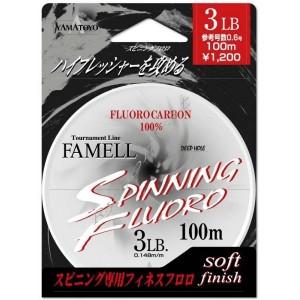 Флюорокарбон Yamatoyo SPINNING FLUORO 100M 5LB. CLEAR-FLUORO