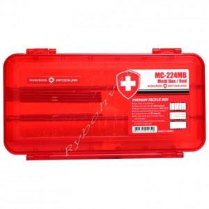 Коробка Moncross для приманок MC-224MB Red