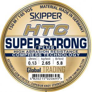 Леска HTC Super Strong  0,15мм 3,80 кг 150м natural Skipper