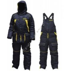 Костюм зимний Fishing ROI Thermal Pro 2 сине-желтый L