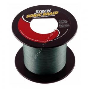 Шнур STREN Sonic Braid Green 1800m 0,16 mm зеленый 15,60 kg