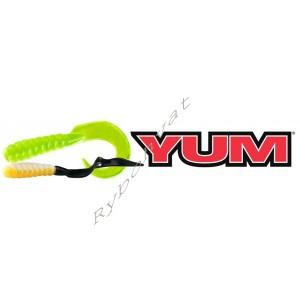 """твистер Yum 4"""" Walleye Grub"""