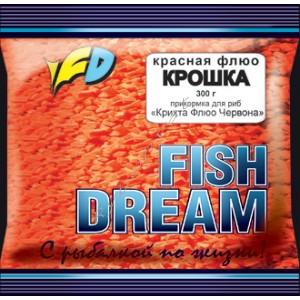 добавка Флюо Крошка красная, FishDream