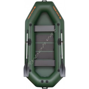 Човен надувний  Колібрі К-280Т, зелений, (у комплекті)
