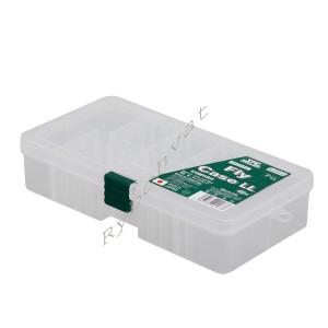 Коробка Meiho Fly Case LL (F-LL) к:прозорий
