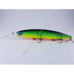 Воблер DEPS BALISONG MINNOW 130SF LONGBILL цвет №05 Hot Tiger 26.5 gr